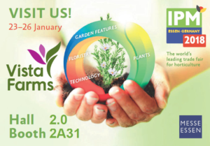 IPM Expo - visit Vista Farms stand Hall 2, Booth 2A31