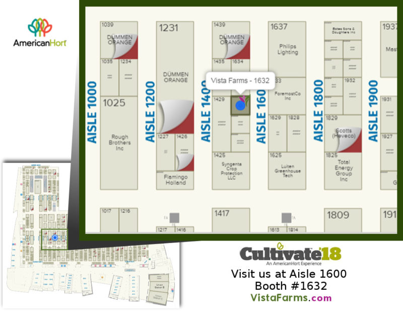 Cultivate Expo 2018 Floorplan - Vista Farms